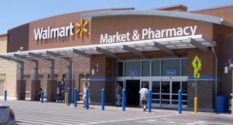 Walmart - Storefront Glass  - Vista Glass Inc.