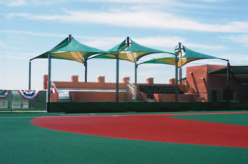 Dream Catcher Park Joined Mariners - Surprise, AZ - USA Shade & Fabric Structures