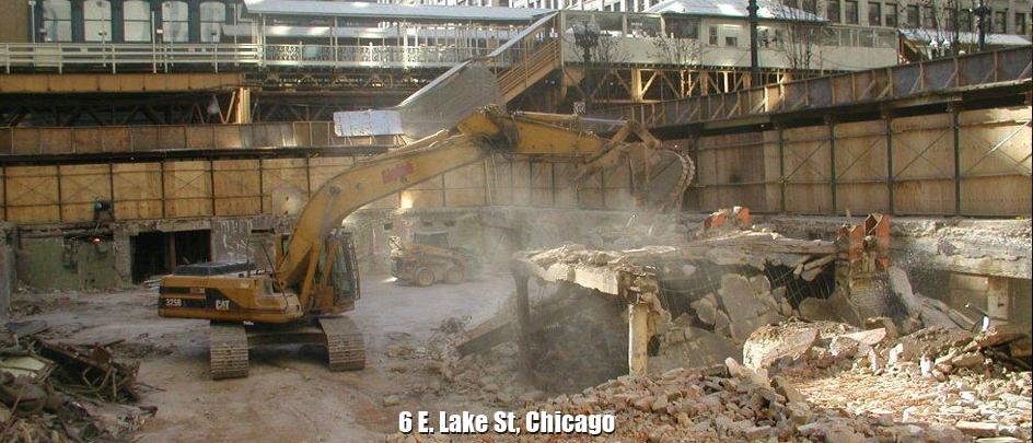 6 E. Lake St.: Chicago, IL - Alpine Demolition Services LLC
