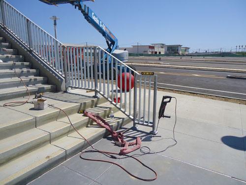 Staircase Railing - Shoreline Constructors, Inc.
