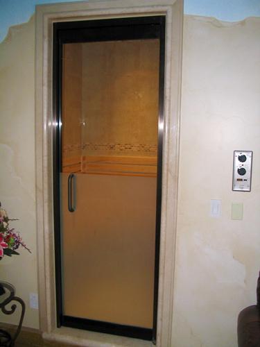 Sauna Glass Door - Elite Glass Enterprise, Inc.