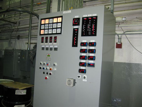 New Boiler Controller Installed with New Burner - M & M Welding & Fabricators, Inc.