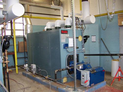 New Boiler Installed at Washington DC Schools - M & M Welding & Fabricators, Inc.