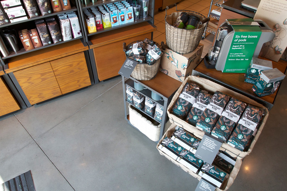 Concrete Floors in Retail - Life Deck Coating Installations