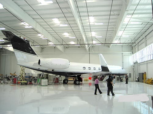 Hangar and Tenant Improvement - Miles Construction Group, Inc.