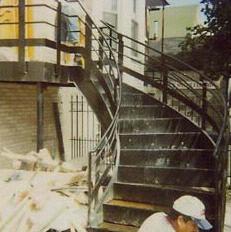 Custom Stairs - Romero Steel Company, Inc.