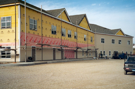 Commercial Siding Project