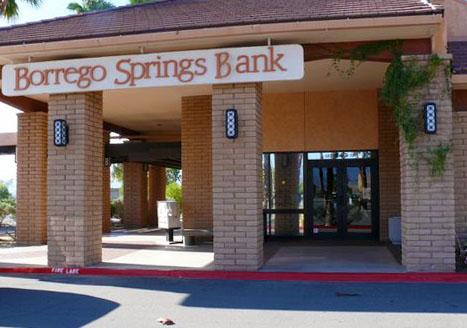 Borrego Springs Bank - San Diego Glass