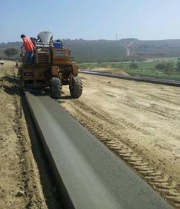 Concrete Curb Construction - Wallace Concrete Inc.