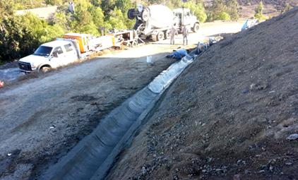 Concrete Drainage Gutter - Prime One Shotcrete