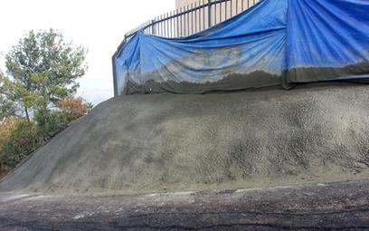 Concrete Base Foundation  - Prime One Shotcrete