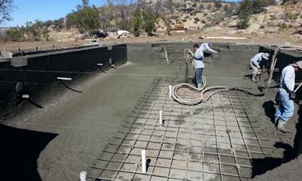 Concrete Foundation - Prime One Shotcrete