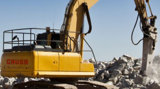 Demolition Services - Crush Demolition & Concrete Cutting