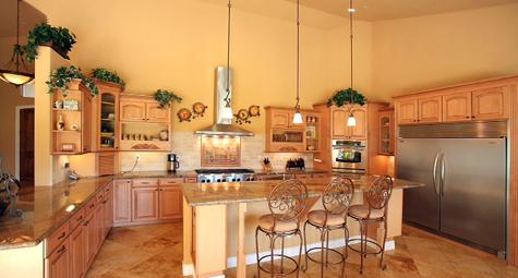 Residential Interior - Kitchen  - Roca Construction
