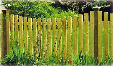 Flatboard Picket - Orange Fence & Supply Co., Inc.