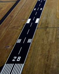 Airport Runways  - Interstate Striping & Signs, Inc.