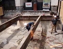 Concrete Construction Site Work