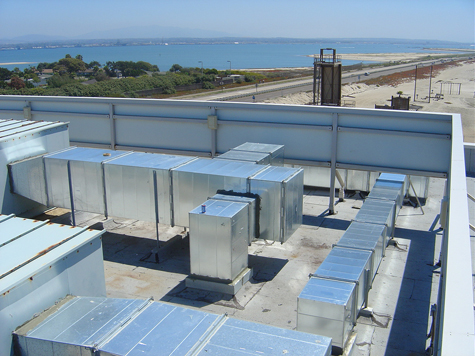 Navy Seal Base  - AC Roof Units  - Western Mechanical