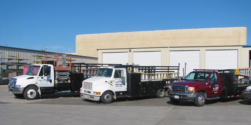 Barton Overhead Door - Commercial Service Trucks - Barton Overhead Door, Inc.