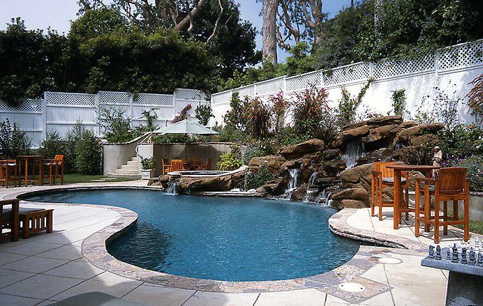 Pool Decking & Fountain - American Gardens Inc.