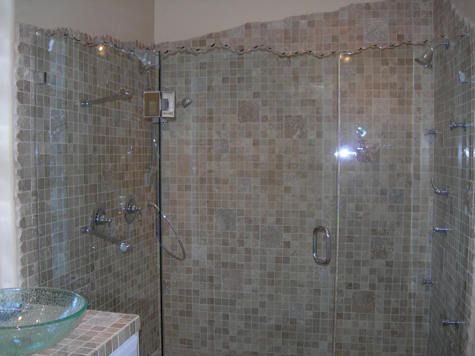 Sea Breeze Glass San Diego Broken Edge Shower Door Image Proview