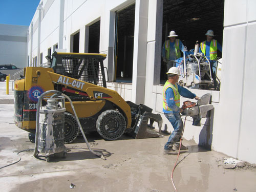 Concrete Sawing & Grinding - All Cut Concrete Cutting and Demolition