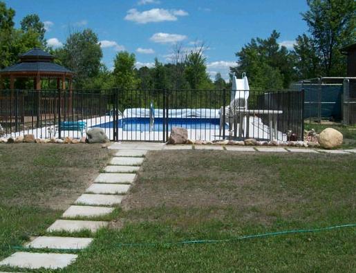 Aluminum Fence - Adrian Fence Company Inc.
