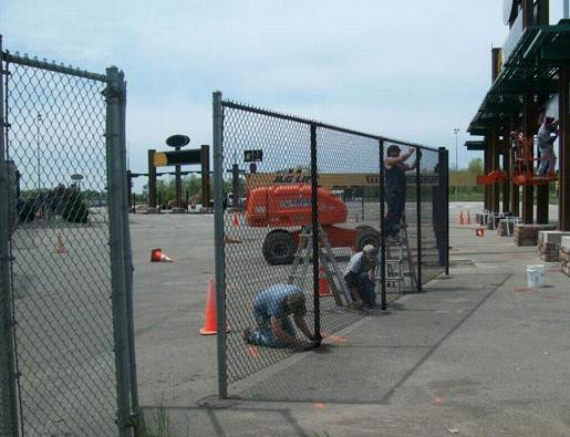 Chain Link Fence - Adrian Fence Company Inc.