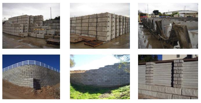 Redi Rock Retaining Walls - CalPortland Company