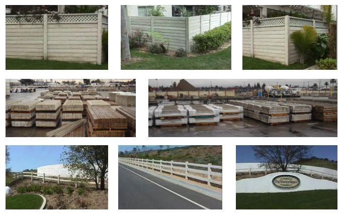Timbercrete Fencing - CalPortland Company