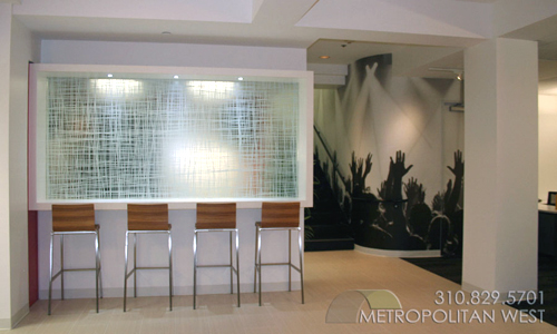 Digitally Printed Film for Glass & Walls - Metropolitan West