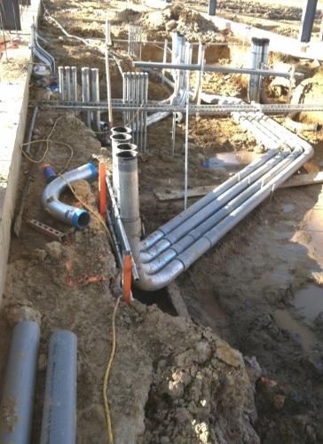 Industrial Underground Electrical Work