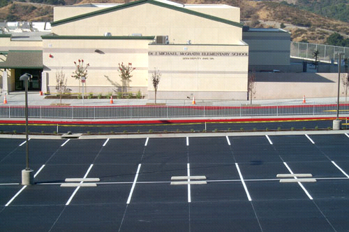 Parking Lot / Structure / Garage Striping 1 - PCI