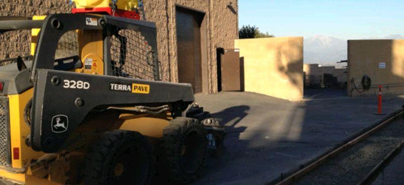 Concrete Flow Line - Terra Pave Asphalt Contractor