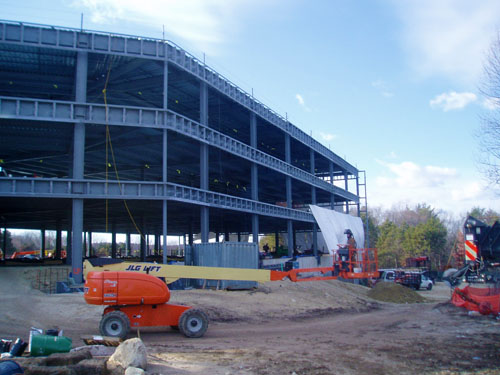 Hanscom Air Force Base- Joint Forces Headquarters - D.C. Scaffold, Inc.