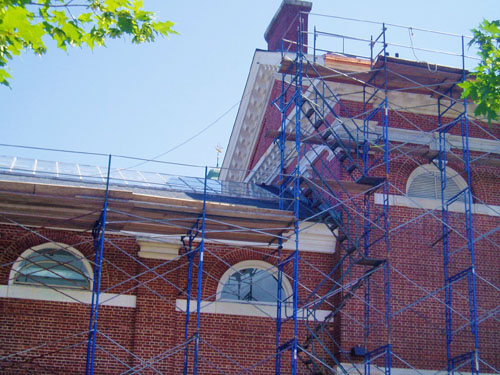 Mayer Arts Center: Phillips Exeter Academy- Exeter, NH - D.C. Scaffold, Inc.