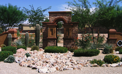 Monument, Block, Stucco and Stone Work - Bedrock Masonry, LLC