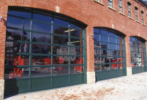 Glass Rolling Doors - Vinyard Doors, Inc.