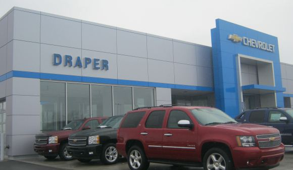 Draper Chevrolet - D & B Cement, Inc.
