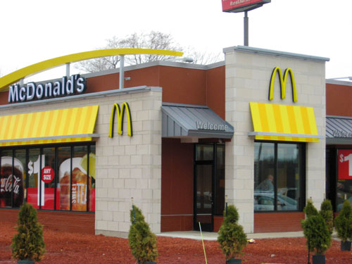 McDonalds - D & B Cement, Inc.