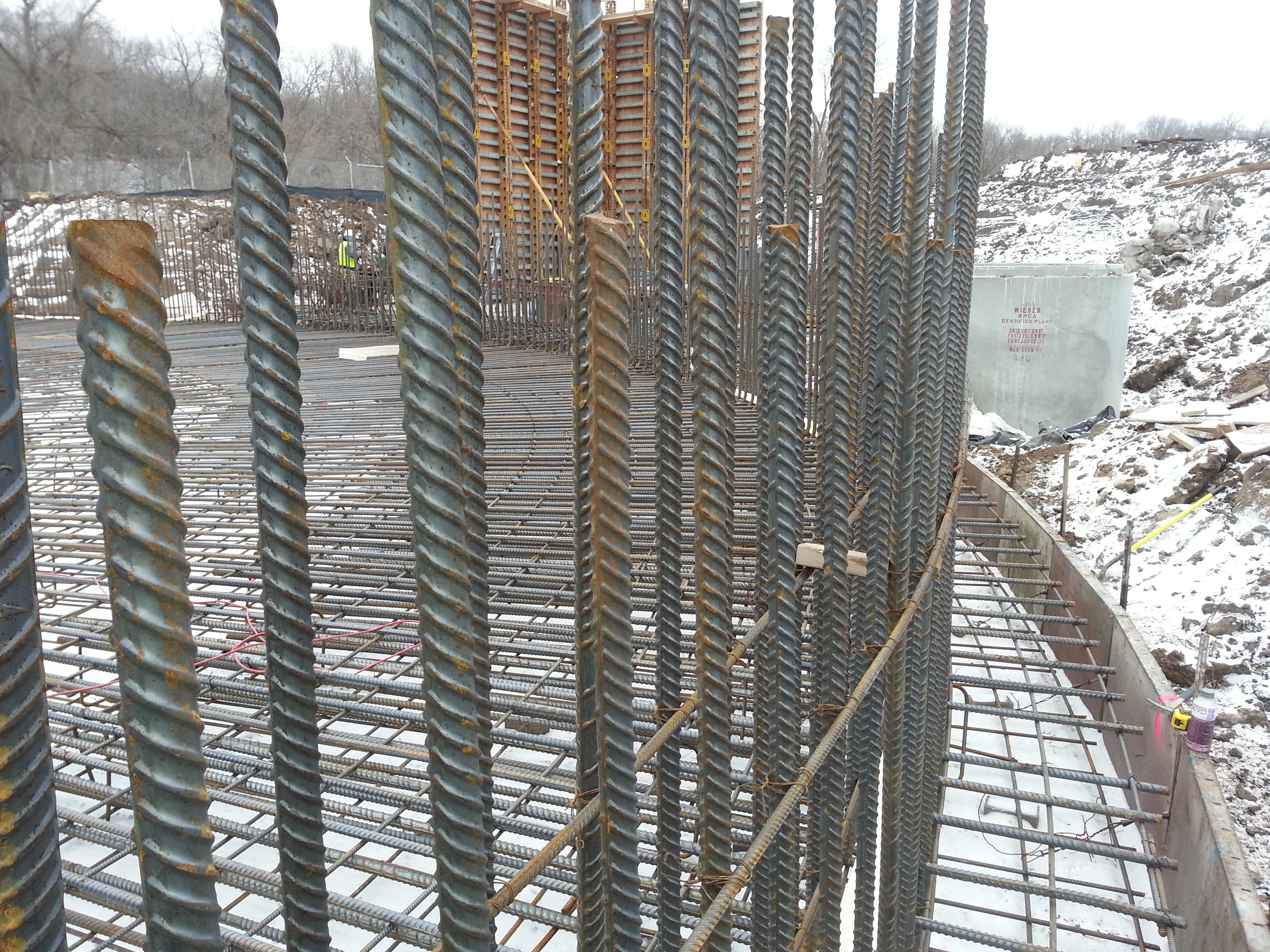 Wastewater Rebar Placement - Tanley Reinforcing, Inc.