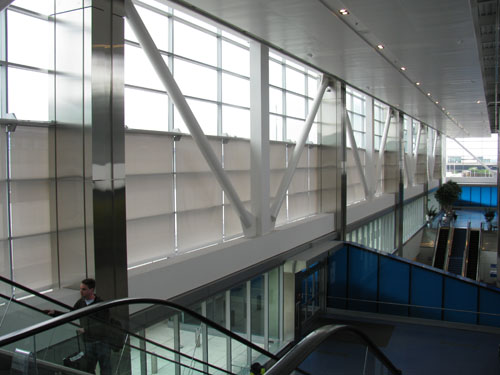 Detroit Metro Airport, North Terminal - Creative Windows