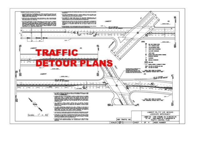 Traffic Detour Plans - ABC Traffic Inc.