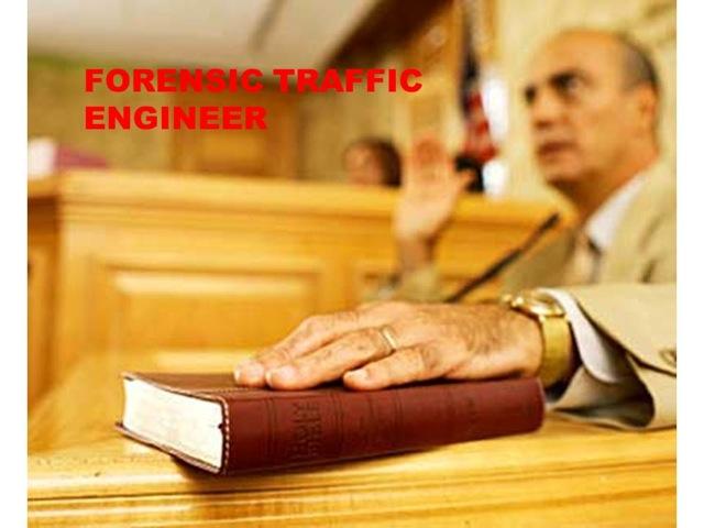 Forensic Traffic Engineer - ABC Traffic Inc.