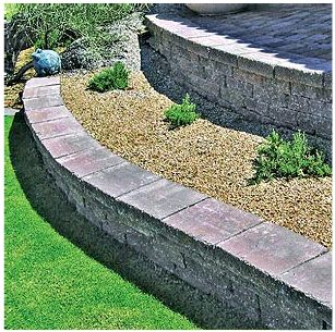 Retaining Wall 1 - European Pavers Southwest, Inc.