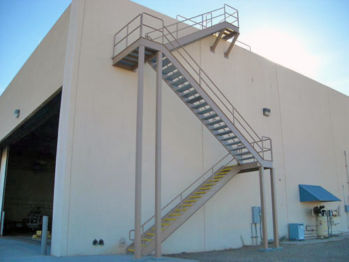 CAP stairway - Allred Metal Products, Inc.