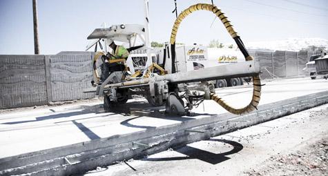 I-15 Core Project  - Utah - Provo River Constructors - A-Core Concrete Cutting Inc.
