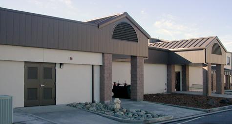 Beale AFB Global Hawk Strategic Command Center - Fabri-Steel West Inc.