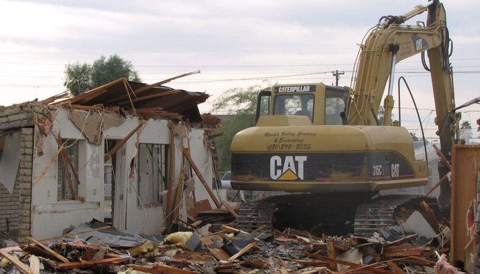 Excavating - Mark's Demolition & Excavating, Inc.