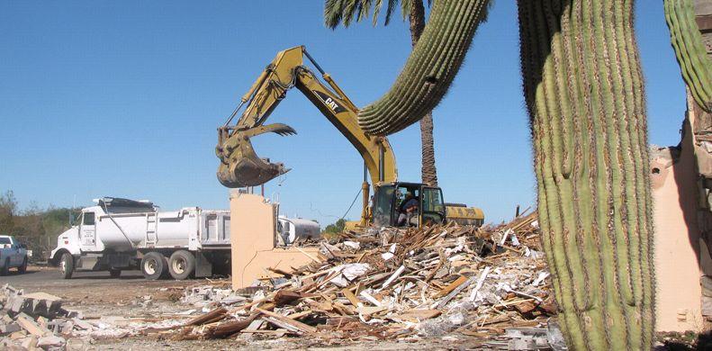 Excavate - Mark's Demolition & Excavating, Inc.